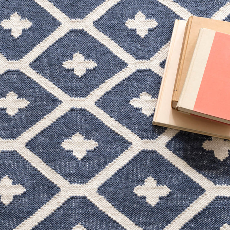 Elizabeth Navy Indoor/Outdoor Rug