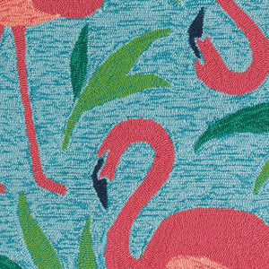 Fancy Flamingo Indoor/Outdoor Rug