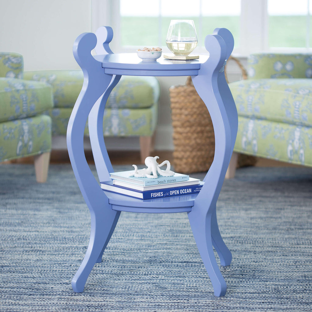 Fiddlehead End Table