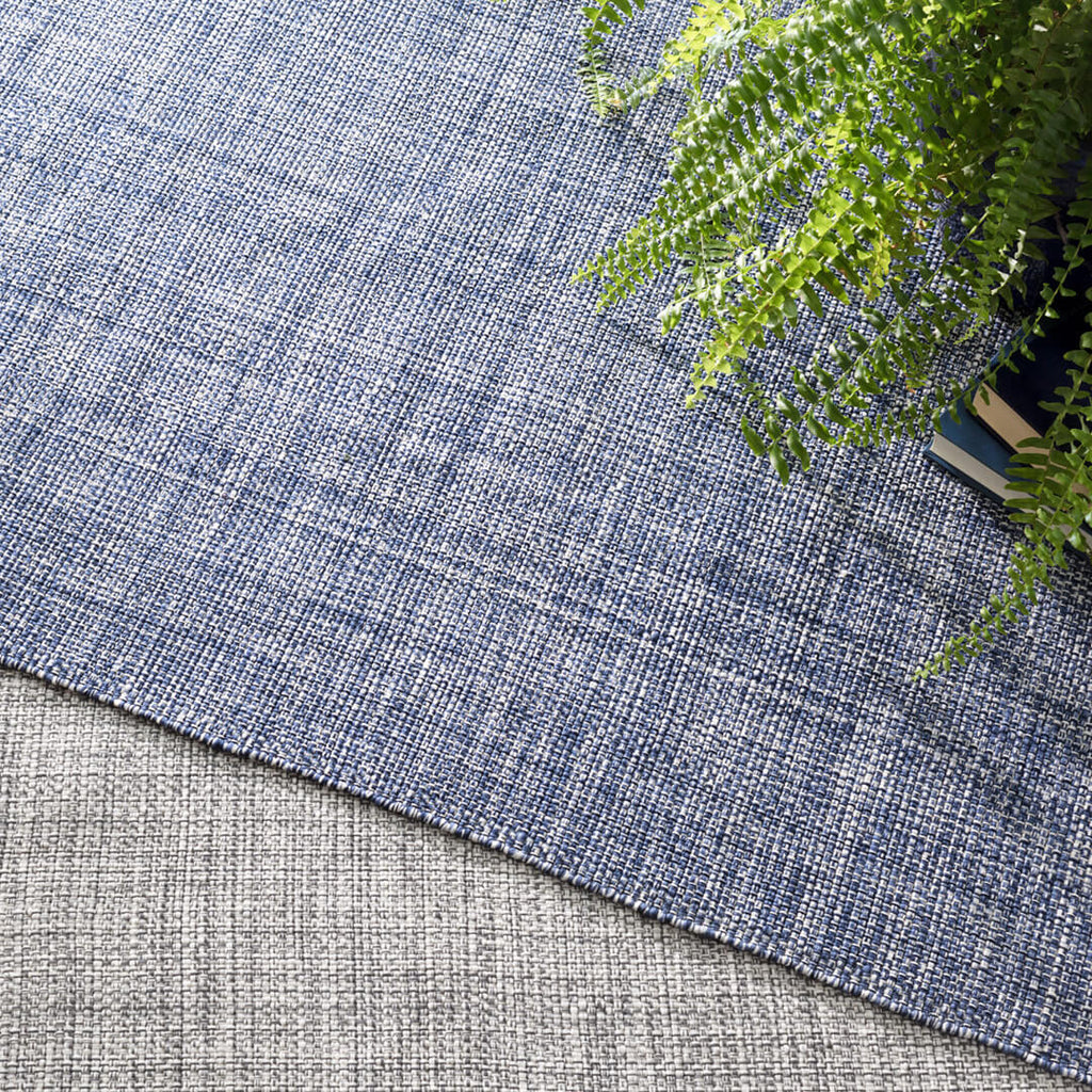 Fusion Blue Indoor/Outdoor Rug