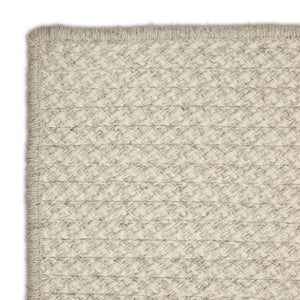 Houndstooth Wool Rug - Oyster