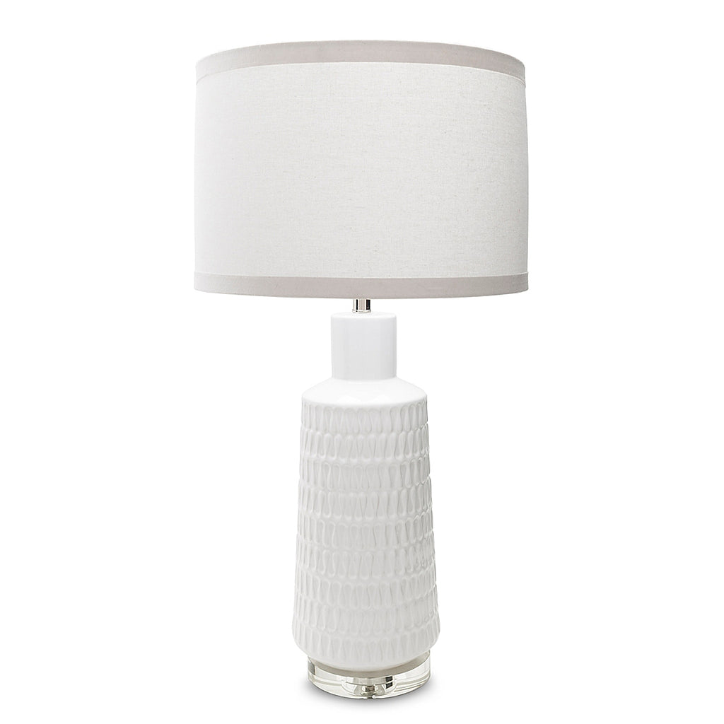 Laurence Table Lamp - White