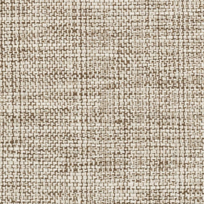 Marled Brown Woven Cotton Rug