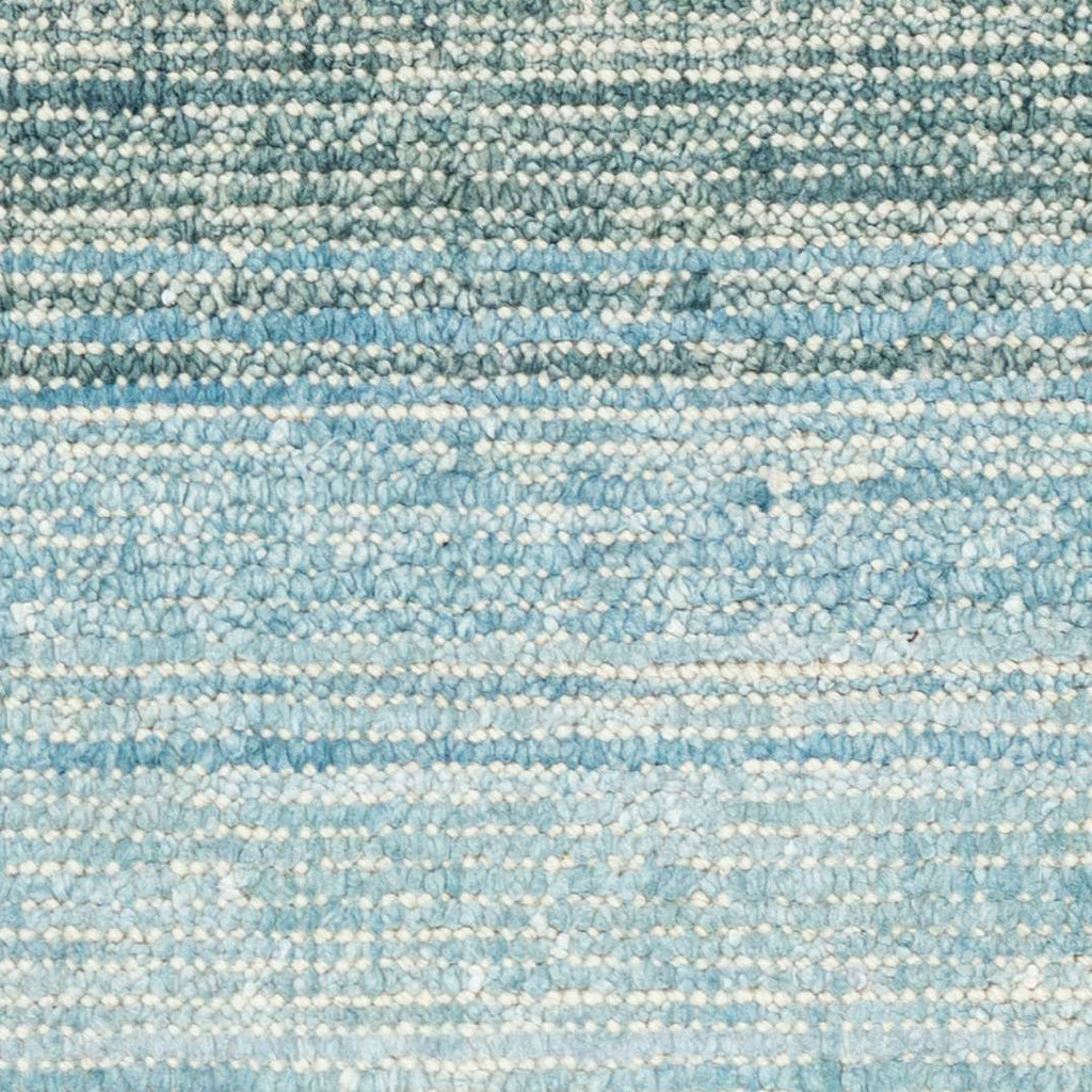 Moon Cotton Viscose Woven Rug - Sky