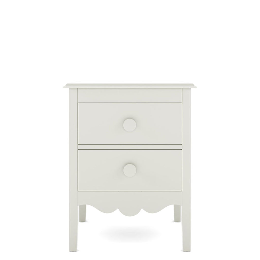 Nellie 2-Drawer Bedside Table