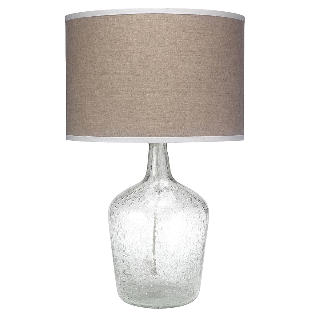 Plum Jar Table Lamp Medium - Clear