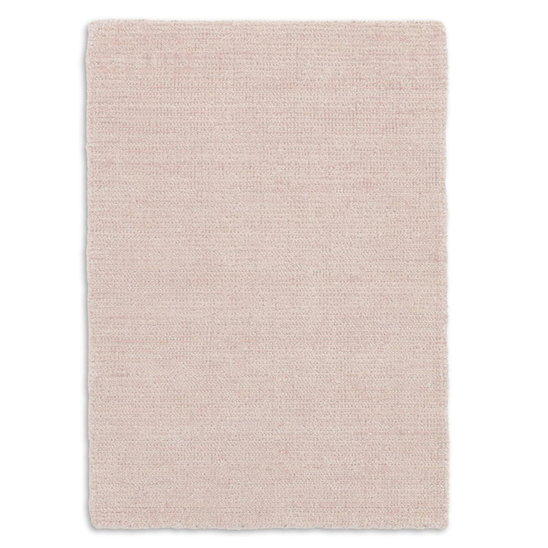 Quartz Woven Viscose/Cotton Rug - Pink