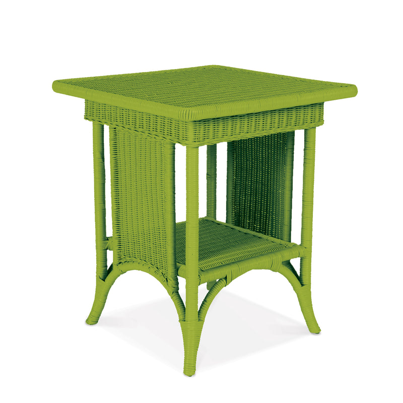 Rufus Tall End Table in Wheatgrass - SALE