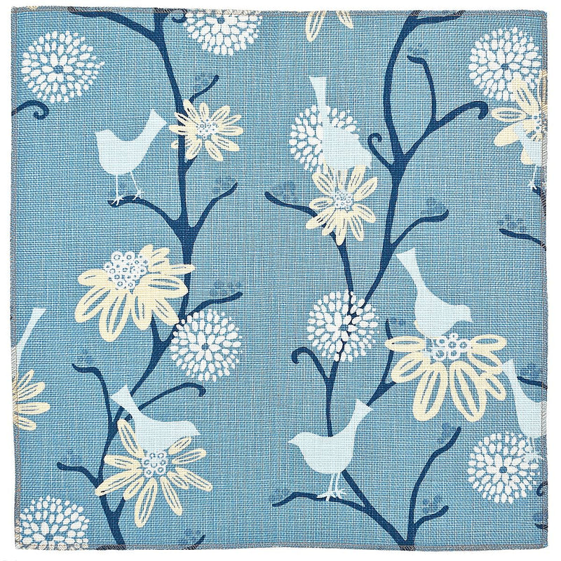 Tweet Suite: True Blue (fabric yardage)