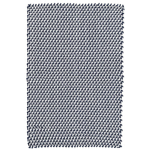 Two-Tone Rope Navy/White Indoor/Outdoor Rug