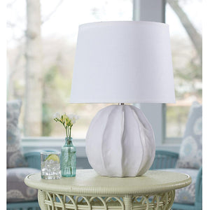 Urchin Table Lamp White