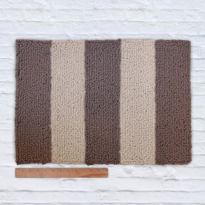 Waypoint Wool Rug Duo Stripe Bark Clay