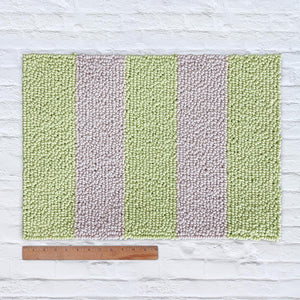 Waypoint Wool Rug Duo Stripe - Ivory + Sprout