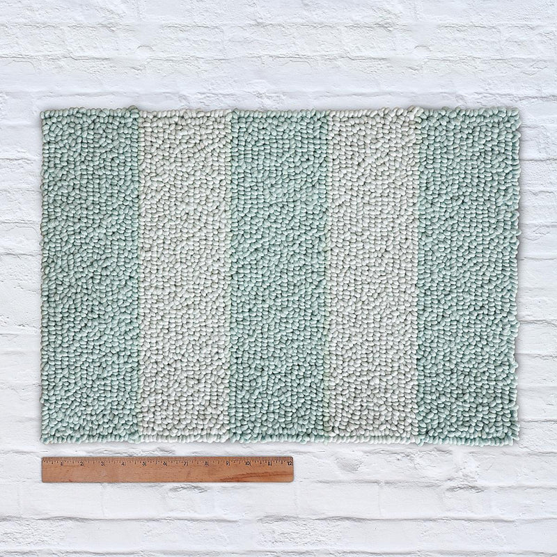 Waypoint Wool Rug Duo Stripe - Porch + Bluebell