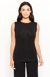 Black Bamboo Tank Top