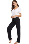 Bamboo Pyjama Pants - Black