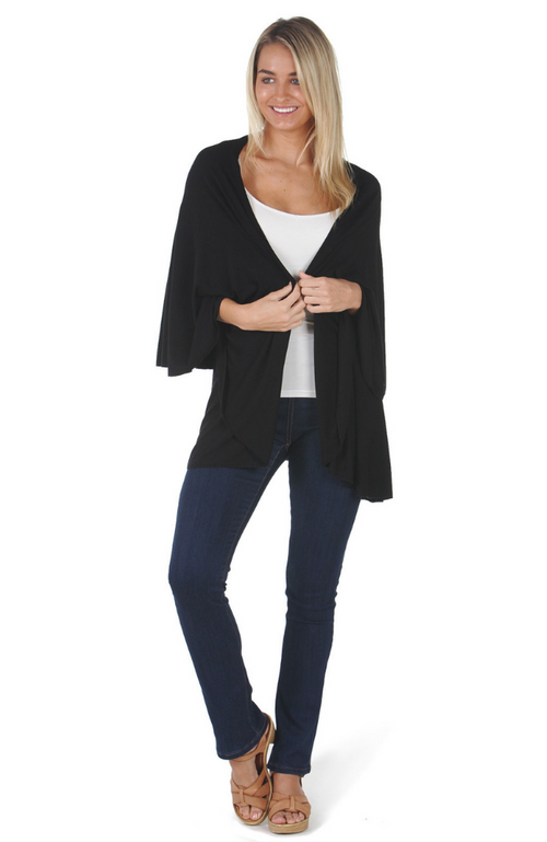 Luxe Bamboo Wrap - Black