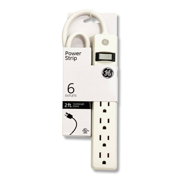 JASCO 6 OUTLET SURGE WHITE