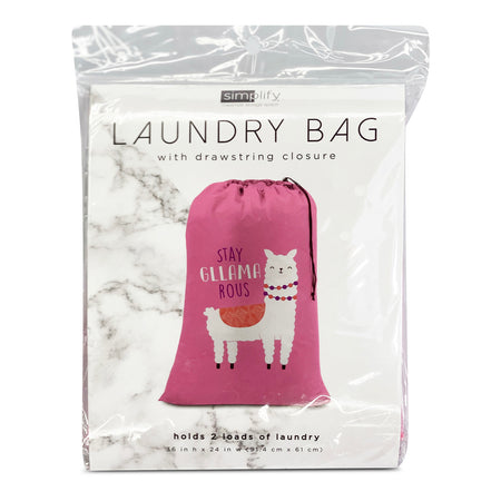LAUNDRY BAG NYLON W/CHARACTERS