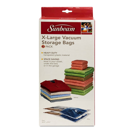 SUNBEAM 2 PC VACUUM BAG XLG