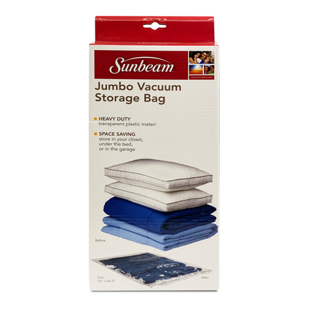 SUNBEAM 1 PC VACUUM BAG JUMBO