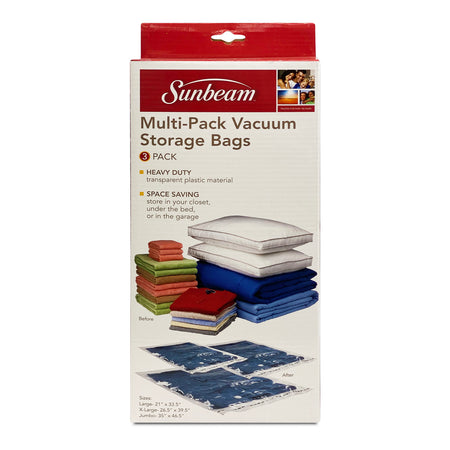 SUNBEAM 3 PC VACUUM BAG SET