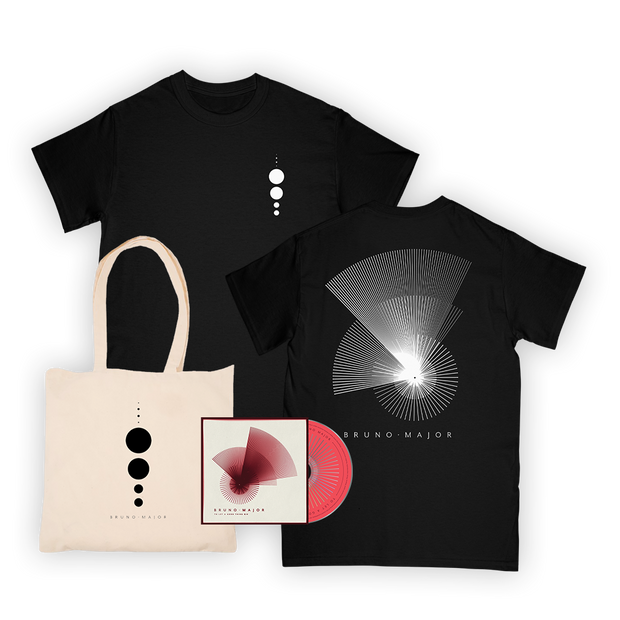 Planet Tee (black) + Tote + CD