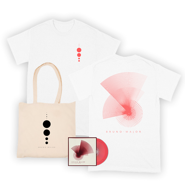 Planet Tee (white) + Tote + CD