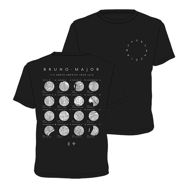North America 2018 Tour T-shirt
