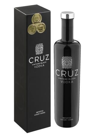 Cruz Vintage Black Vodka 750ml