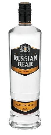 Russian Bear Flavours Passion Fruit 750ml
