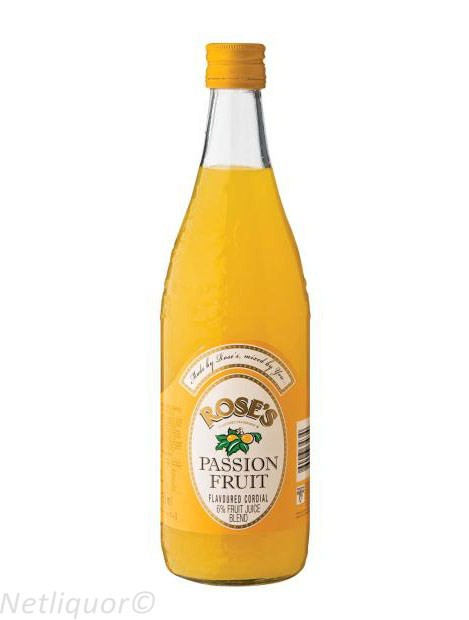 Roses Passion Fruit Bottle