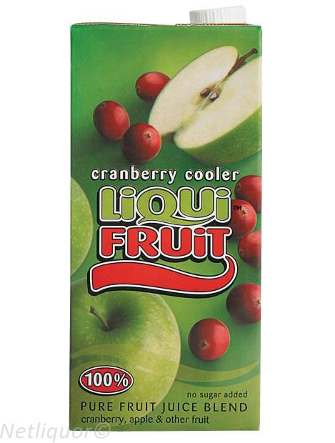 Liquifruit Cranberry Cooler Box 1lt