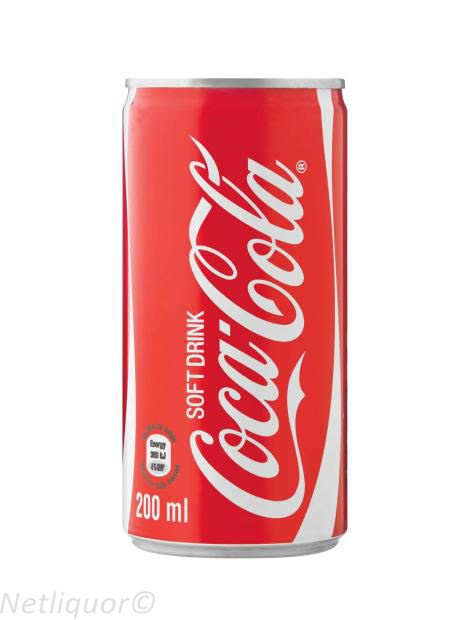 Coca-Cola Can 200ml - Case