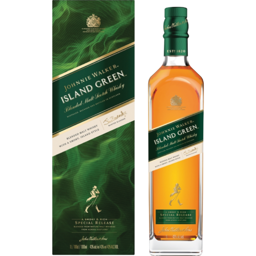 Johnnie Walker Green Label Malt Whiskey Bottle 750ml