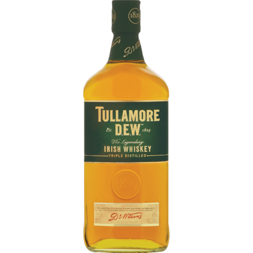 Tullamore Dew Irish Whisky 750ml