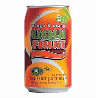 Liquifruit Mango & Orange Can 330ml - 6 Pack