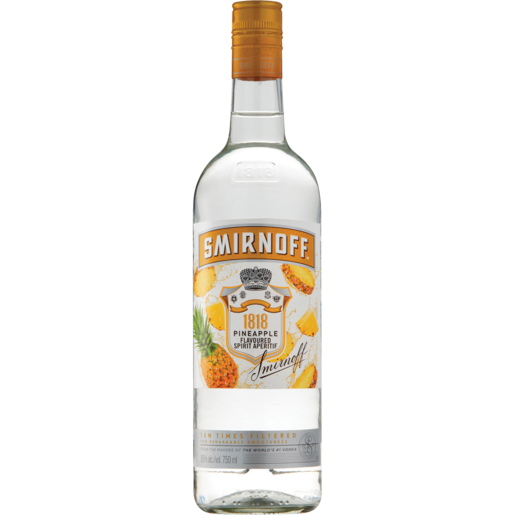 Smirnoff Flavours Pineapple 750ml