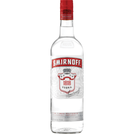 Smirnoff 1818 Vodka 750ml