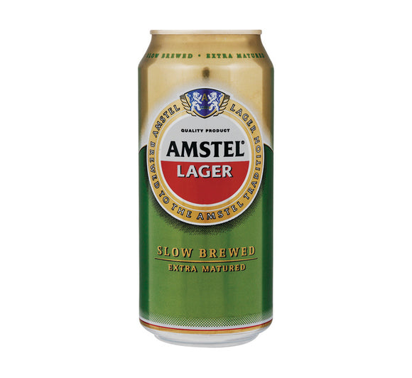 Amstel Lager Can 440ml - Case