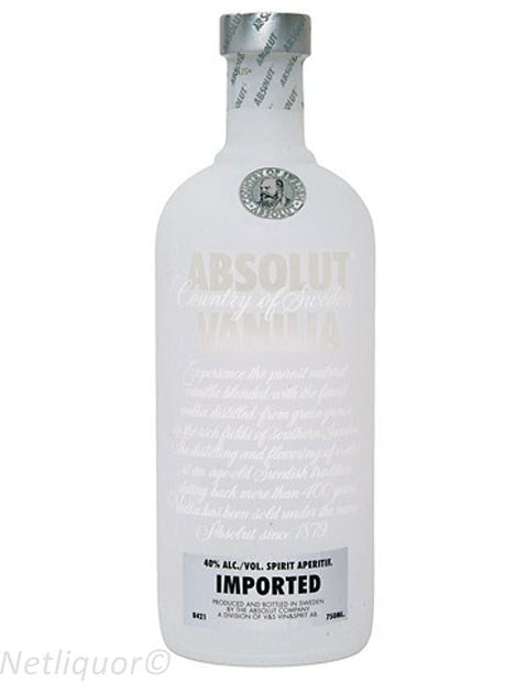 Absolut Flavoured Vodka Vanilla 750ml