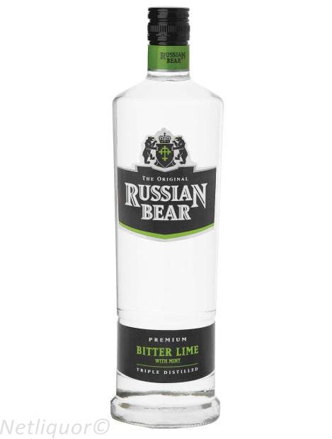 Russian Bear Flavours Bitter Lemon Wth Lime 750ml