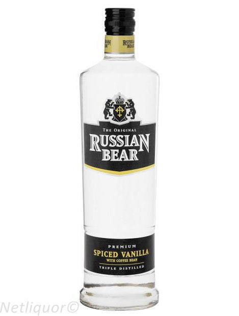 Russian Bear Flavours Spiced Vanilla Wth Coffe Beans 750ml