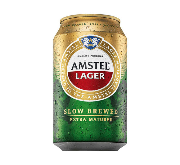 Amstel Lager Can 330ml - 6 Pack