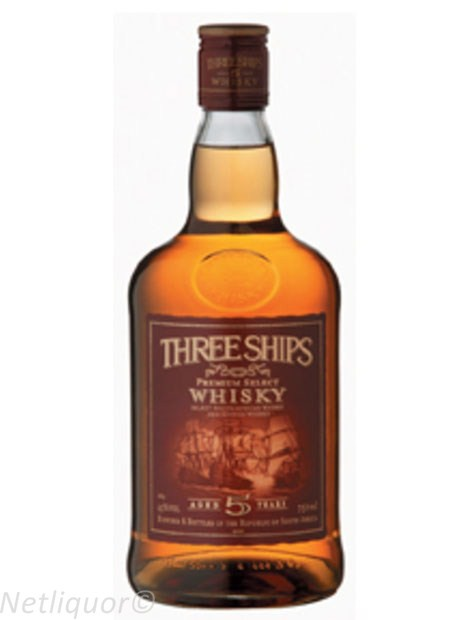 Three Ships 5 Yr Whisky 750ml