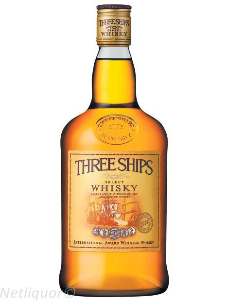 Three Ships Whisky 750ml
