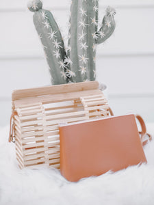 Square Bamboo Bag