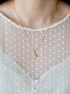 Star Gold CZ Necklace
