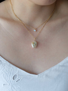 Pearl Opal Necklace