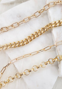Custom Gold Chain Necklace